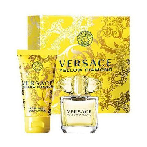 Versace Yellow Diamond W Zestaw perfum Edt 90ml + 100ml Balsam