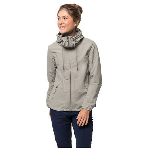 Kurtka damska LAKESIDE JACKET W dusty grey - L (4060477134703)