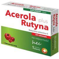 Tabletki Acerola Plus Rutyna naturalna witamina C x 50 tabletek