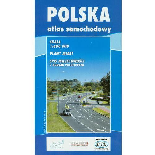 Polska atlas samochodowy 1:600 000, oprawa miękka