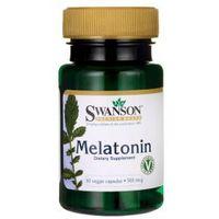 Melatonin - Melatonina 500 mcg (60 kaps.) Swanson