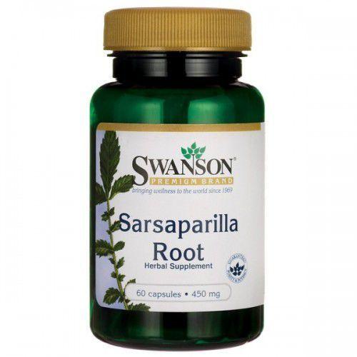 Swanson Sarsaparilla (Kolcorośl) 450mg - (60 kap) (0087614114040)
