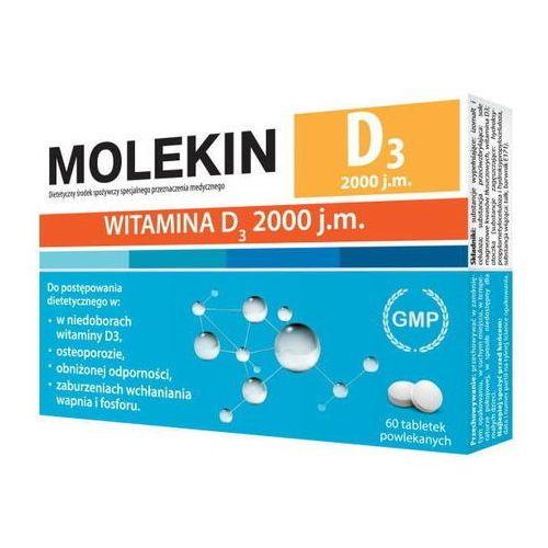 Tabletki Molekin D3 2000 j.m x 60 tabletek