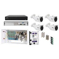 Zestaw do monitoringu hdcvi  na 4 kamery marki Bcs