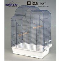 Inter-Zoo klatka dla ptaków Eliza 2 wersje biała/chrom