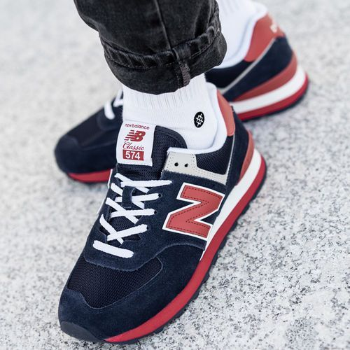 New Balance 574 (ML574MUA), kolor niebieski