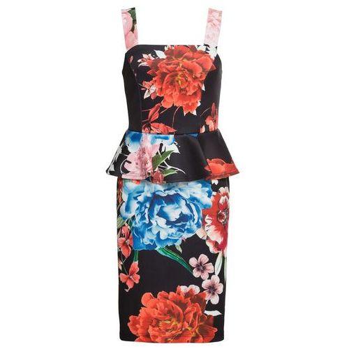 Sukienka shirtowa czarny, Bonprix, 32-50