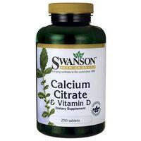 Tabletki Cytrynian wapnia & Witamina D-3 250 tabl.