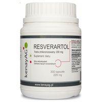 Resveratrol trans zmikronizowany 200mg 300 kaps.