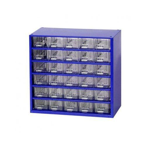 Metalowe szafki z szufladami, 30 szuflad (8595004167627)