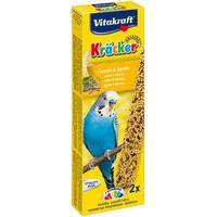 Vitakraft kracker - kolba sezamowa z bananem dla papużki falistej 2szt.
