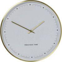 KARE Design:: Zegar ścienny Effekt złoty Ø40cm, kolor żółty