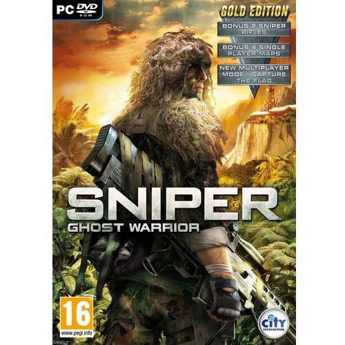 Ci games City interactive sniper ghost warrior gold