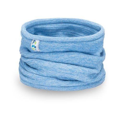 Wiosenny komin chłopięcy - jasnoniebieski - jasnoniebieski marki Pamami