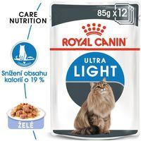 60 x 85 g Royal Canin mokra karma dla kota w super cenie! - Ultra Light w galarecie| Darmowa Dostawa od 89 zł i Super Promocje od zooplus!
