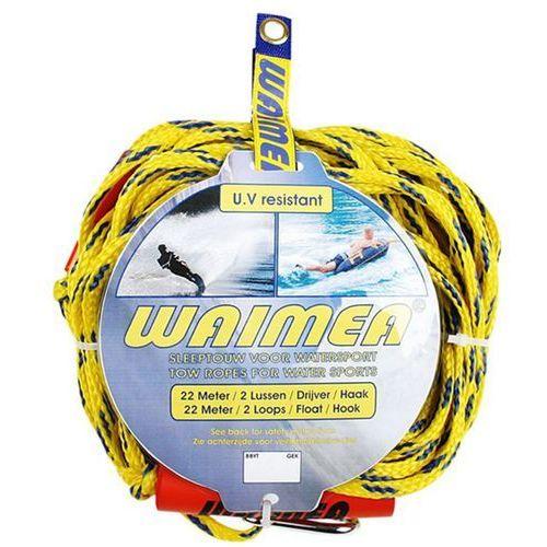 Waimea linka do sportów wodnych 88yt żółto niebieska