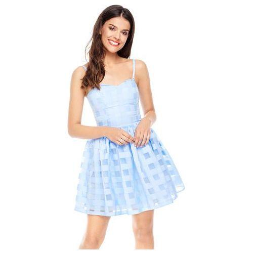 Sukienka iris w kolorze błękitnym marki Sugarfree
