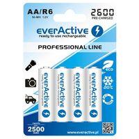 4x akumulatorki  r6/aa ni-mh 2600 mah ready to use marki Everactive