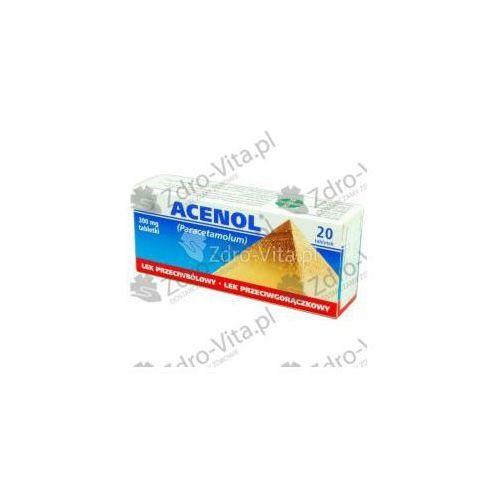 Tabletki Acenol tabletki 0.3 x 20 tabletek