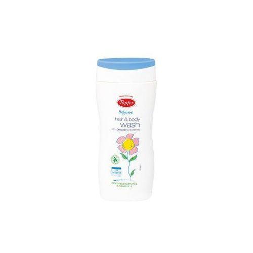 Przecena płyn do mycia ciała i włosów dla niemowląt i dzieci 200 ml Topfer