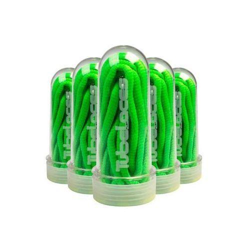 Sznurówki - pad neongreen (2087) marki Tubelaces