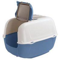 prima cabrio toaleta dla kota biało-niebieska [72053899] marki Ferplast