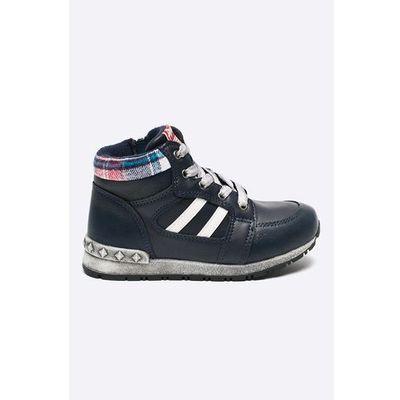 e855ce43a7467 american club szaro czarne buty dzieciece sportowe na rzepy czerwony ...