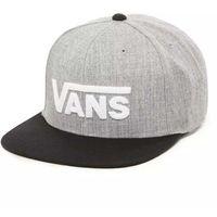 czapka z daszkiem VANS - Mn Drop V Ii Snapback Heather Grey/Black (HGB)