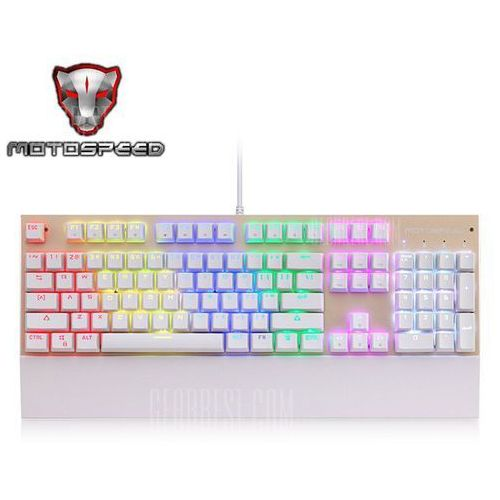 Gearbest Motospeed ck108 usb wired game keyboard
