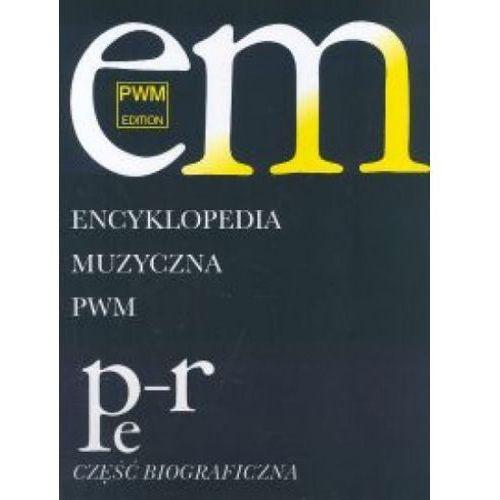 Encyklopedia Muzyczna Pwm T.8 Pe-R, Polskie Wydawnictwo Muzyczne