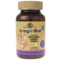 Pastylki Solgar Kanguwity witaminy dla dzieci (smak jagodowy) - 60 pastylek