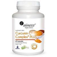 Curcumin C3 complex PLUS Curcuma longa 500 mg Piperin 5 mg 60 kaps. Aliness (5902596935924)