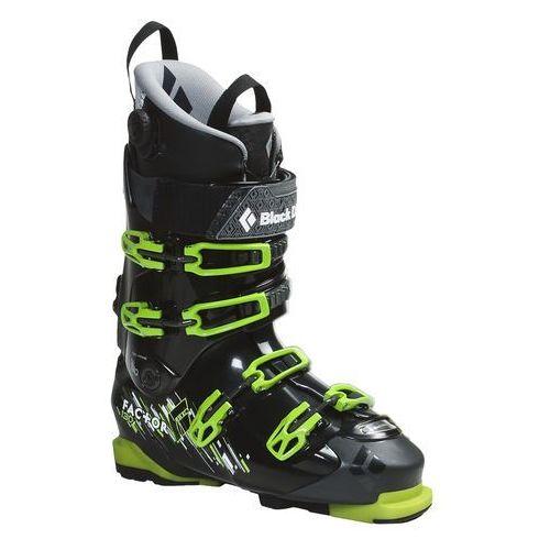Buty skiturowe FACTOR 130 + podeszwa pinowa - black