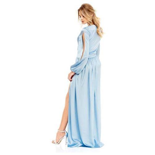 Sukienka Penelopa w kolorze błękitnym, kolor niebieski