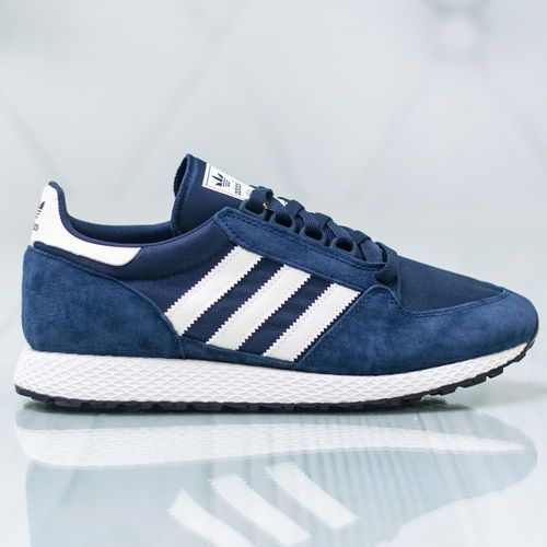 adidas Forest Grove CG5675, kolor niebieski