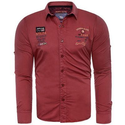 977c9641a553e7 next koszula czerwona granatowa w kategorii: Koszule męskie, Rozmiar ...