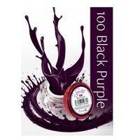 Semilac UV Gel Color 100 Black Purple, 5ml
