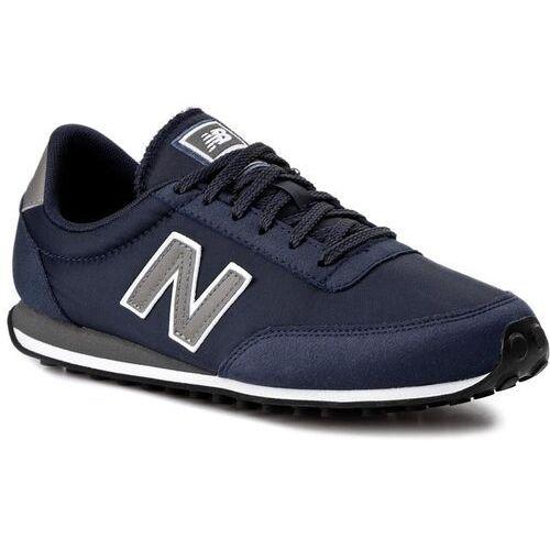 New balance Sneakersy - classics u410cb niebieski