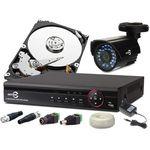 Zestaw monitoringu ahd 1 kamera 720p + rejestrator +1tb marki Easycam