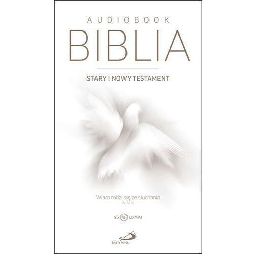 Biblia. Stary i Nowy Testament. Wiara rodzi się ze słuchania. Audiobook MP3 (8CD) (2018)