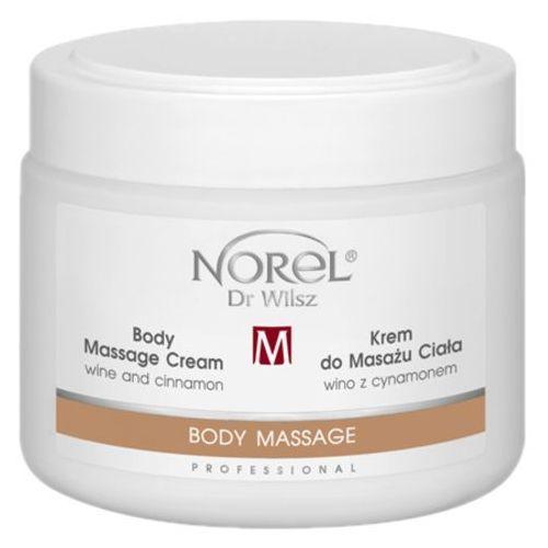 Norel (Dr Wilsz) BODY MASSAGE CREAM WINE AND CINNAMON Krem do masażu ciała wino z cynamonem (PB327) - Super upust
