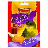 vitaline tranowe perełki dla kanarka 20g marki Vitapol