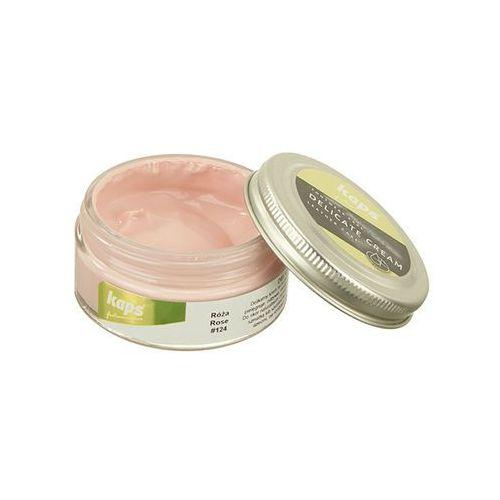 KAPS pasta 04_5013_124 Delicate Cream 50ml róża, pasta do obuwia - Różowy