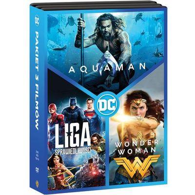 Pakiety filmowe James Wan, Zack Snyder, Patty Jenkins InBook.pl