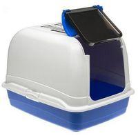 Ferplast Toaleta Maxi Bella biało-niebieska - dla dużego kota [72070099], Ferplast Toaleta Maxi Bella biało-niebieska - dla