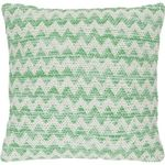Poduszka dani 45x45 - zielony ||kremowy marki D2.design