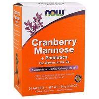 Cranberry Mannose+ Probiotics (Żurawina D-Mannoza Probiotyki) 24 saszetek
