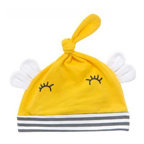 Cangurino czapka dziecięca 36 żółty