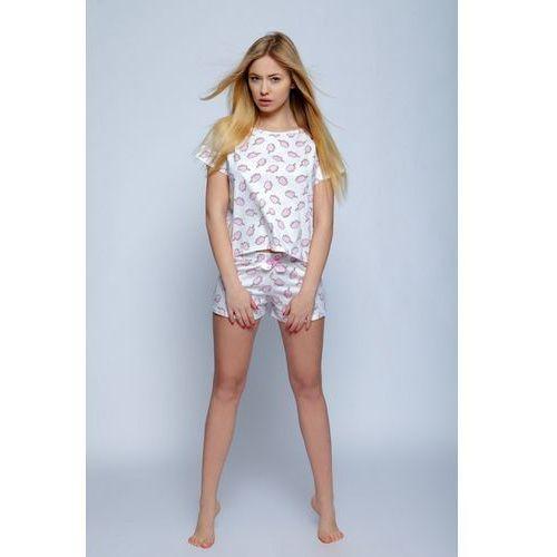 6a947847 Piżama Damska Model Ice Cream Ecru, kolor beżowy (Sensis)