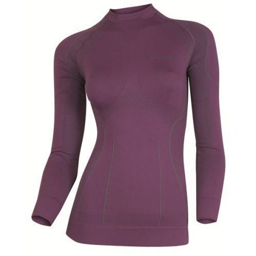 Termoaktywna bielizna damska Brubeck Thermo - LS01140 - violet, kolor fioletowy